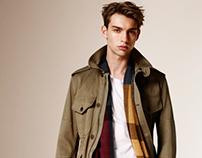 BURBERRY Brit AW15 Menswear Lookbook