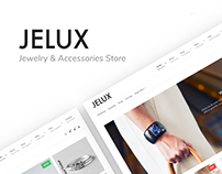Jelux - Jewelry & Accessories Store WooCommerce Theme