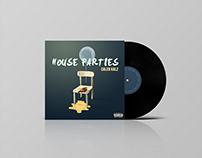 HOUSE PARTIES. ALBUM ART DESIGN.
