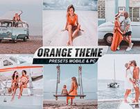 Orange Theme Presets