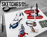 Product Sketches 2019 • Product Design
