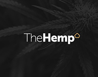 Naming & branding for hemp brand TheHemp