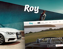 Roy Rent a Car Template
