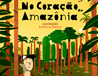 Livro infanto-juvenil - No Coração da Amazônia