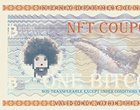 NFT Coupon for Blockchains / Cryptoart currency