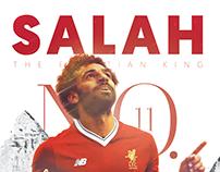 Mohamed salah -Poster design