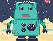 RobotGreetingsCard
