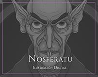 Nosferatu - Ilustración Digital