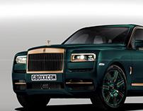 Rolls-Royce Cullinan Brass Mint