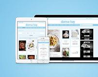 Donna Hay: Website Design