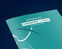 Cahier du Cridon Lyon - édition print