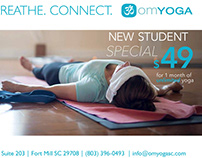 Om Yoga: Print Advertising