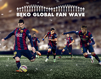 BEKO/FCBarcelona : Global fan wave #JoinTheTeam