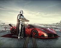 Lamborghini Advertising - Captain Phasma