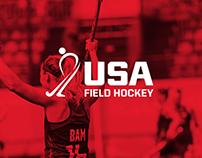 USA Field Hockey Social Media & Web Banners