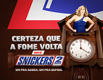 Snickers • Lançamento Snickes® 2 Barras