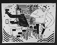 Inktober drawings