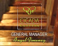 Cicada Cantina Business Card