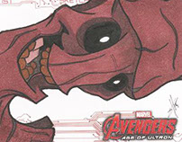 Marvel Sketch Card Dump