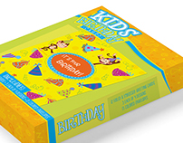 Birthday Cards for Kids Package Design