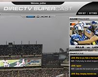 DirecTV SuperCast | UI Development