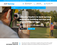 Land Survey Web Template