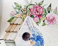 Bird x Wreath Project