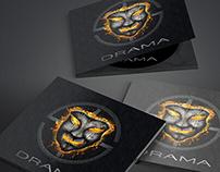 DRAMA grupės logotipas ir cd viršelis