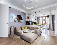 Apartment in Moscow by Team Design