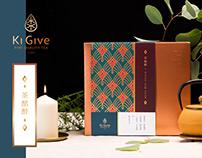 茶葉新年禮盒包裝-Ki Give Tea