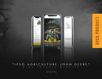 IPSO Tarım - John Deere UIUX Product Website