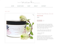 Skincare Product Page