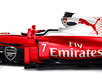 Premier League Footbal Liveries on F1