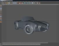 Shelby Cobra 427 S/C - modeling phase
