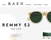 Intern Portfolio - Libre Design for Raen Optics