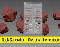 Rock Genarator | Creating the realistic rock