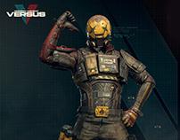 Modern Combat Versus Character - Gameloft