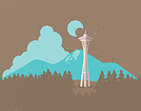 Seattle, illustrated