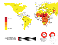 Infographic: Maternal mortality in the world