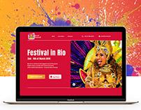Landing Page - Brasil Carnival