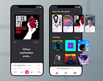 Music Player Dashboard