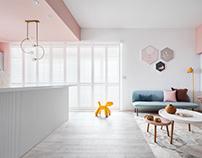 Yu Chu Interior Design|Pink Fairy