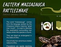 Ohio Reptiles Signage