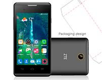 Packaging Design Phone: ZTE Blade A410