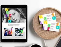 "Branding of color studio salon ""Weirdo"" Брендинг"