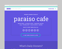 Daily Dinners Product Landing Page