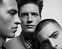 Editorial: 'Adil, Florian and Vlad' for De Morgen Mag