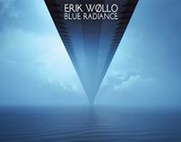 ERIK WØLLO'S BLUE RADIANCE cover design