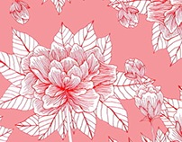 Chinese Flower Pattern