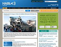 HablaGuate website